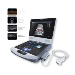 Tragbares Hochleistungs-Ultraschallgerät AX8