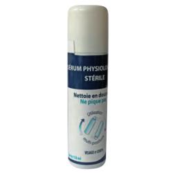 Physiologische Kochsalzlösung in Sprayform